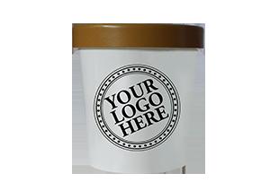 classic paper pint ice cream gelato retail private label