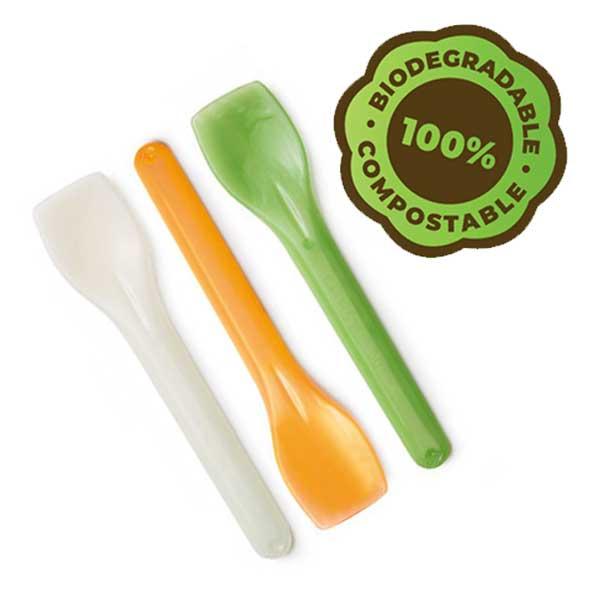 eco gelato spoons biodegradable