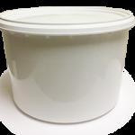 round gelato tub wholesale foodservice container