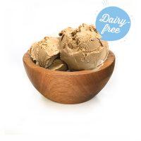 dairy-free caramel sea salt frozen dessert