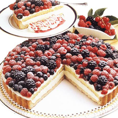 torta frutti di bosco italian desserts for foodservice and retail