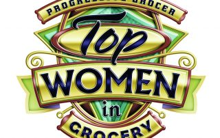 top women in grocery logo