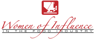 women of influence in the food industry logo