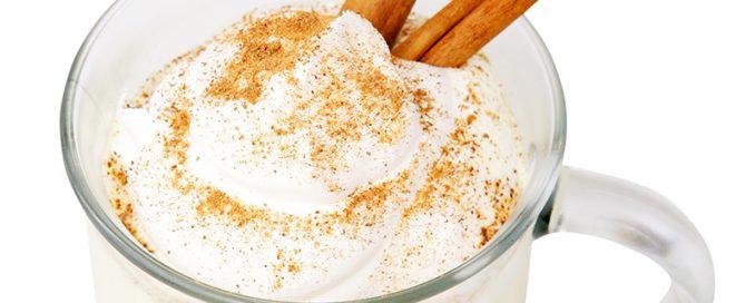 cinnamon gelato eggnog