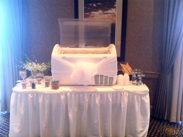 gelato bar for weddings and events