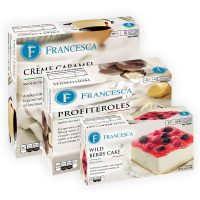 italian desserts in retail packaging