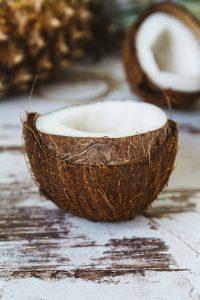 coconut milk plant-based frozen dessert