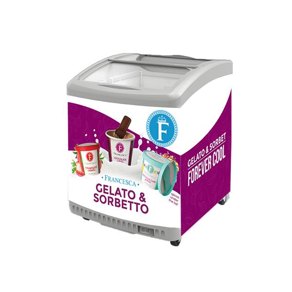 single-serve gelato freezer