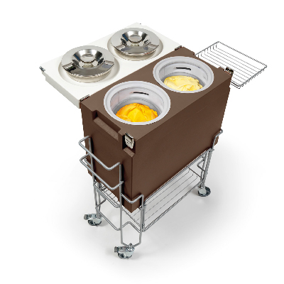 gelato tableside cart equipment