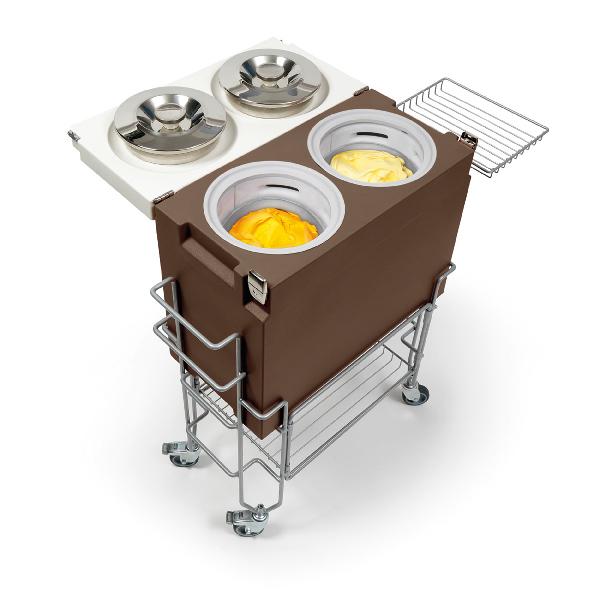 gelato tableside cart equipment
