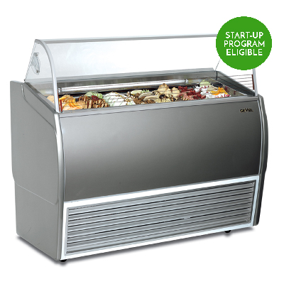 slm 6 8 flavor gelato display case