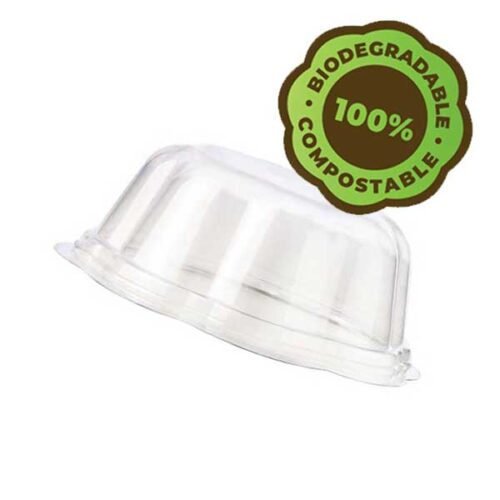 eco gelato cup lid biodegradable