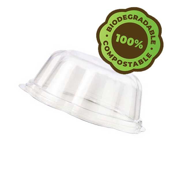 eco gelato cup lid biodegradable