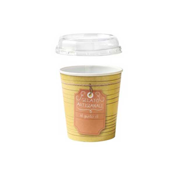 gelato to-go pint with lid