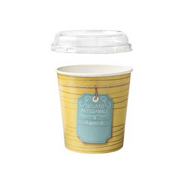 gelato to-go quart with lid
