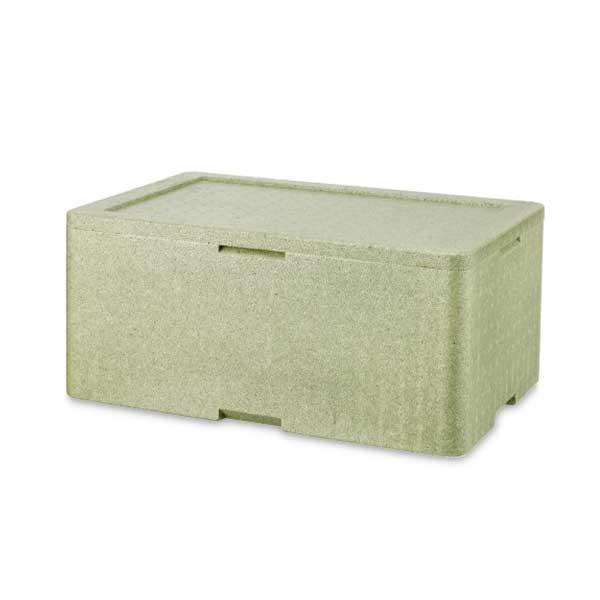 green thermal gelato to-go box